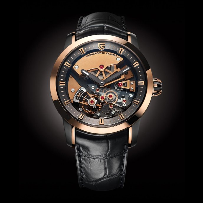Christophe Claret Montres à Complications Traditionnelles Maestoso MTR.DTC07.030-050 - watch face view
