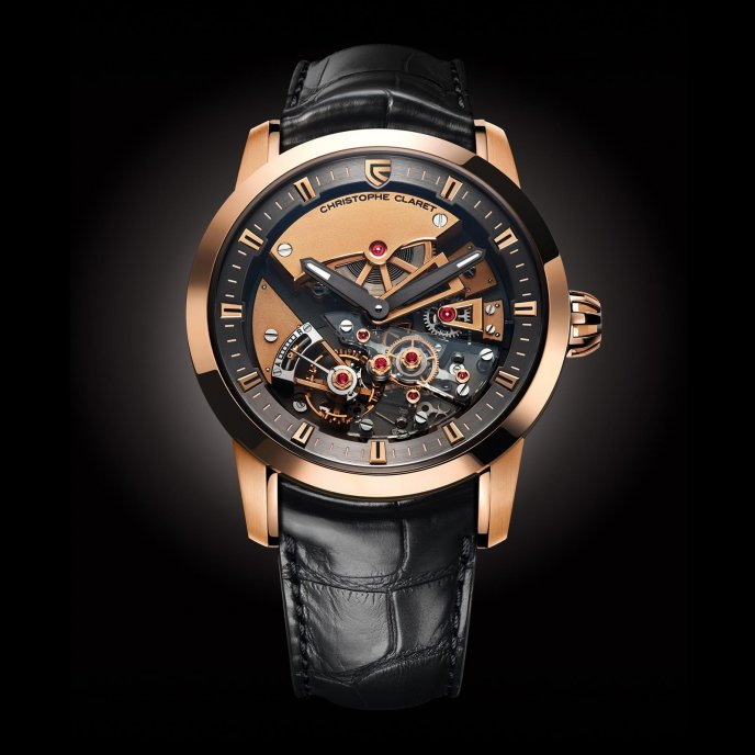 Christophe Claret Montres à Complications Traditionnelles Maestoso MTR.DTC07.060-080 - watch face view