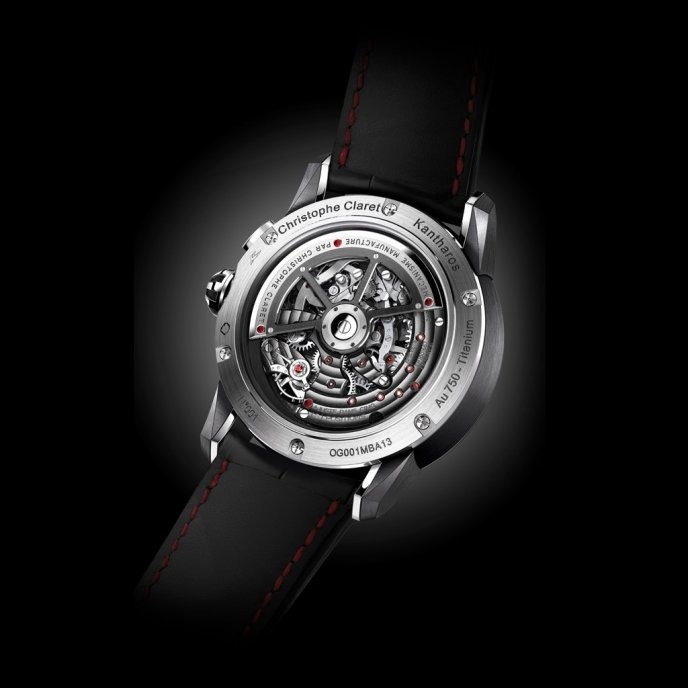 Christophe Claret Kantharos watch-back-view