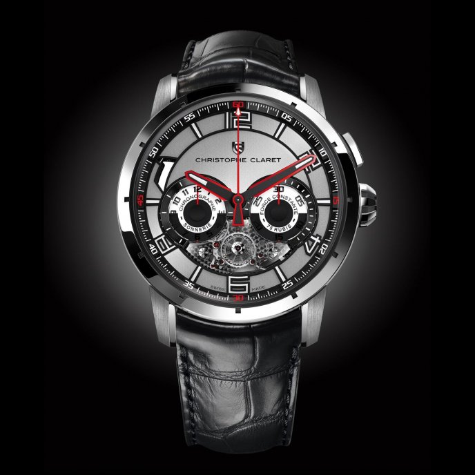 Christophe Claret Kantharos watch-face-view