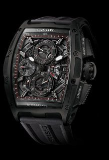 Chrono II Black Steel