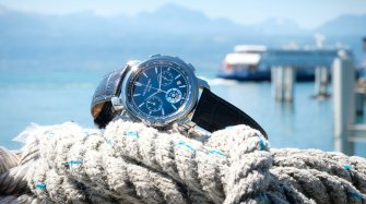 Lac Léman Chronograph Blue Watches