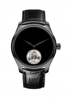 Endeavour Tourbillon Vantablack<sup>®</sup> Black Hands