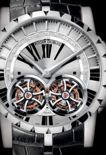 Double Flying Tourbillon