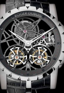 Skeleton Double Flying Tourbillon