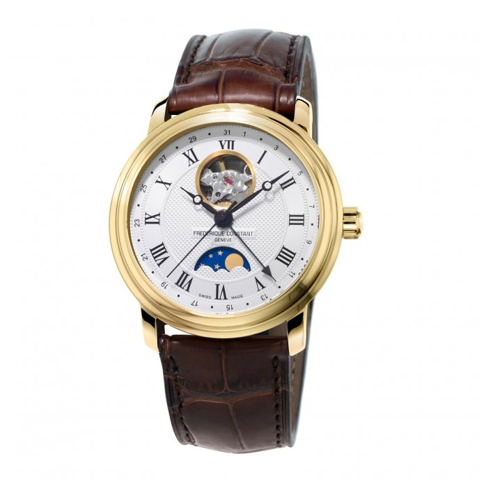 Frédérique Constant Classics Moonphase FC-335MC4P5 watch-face-view