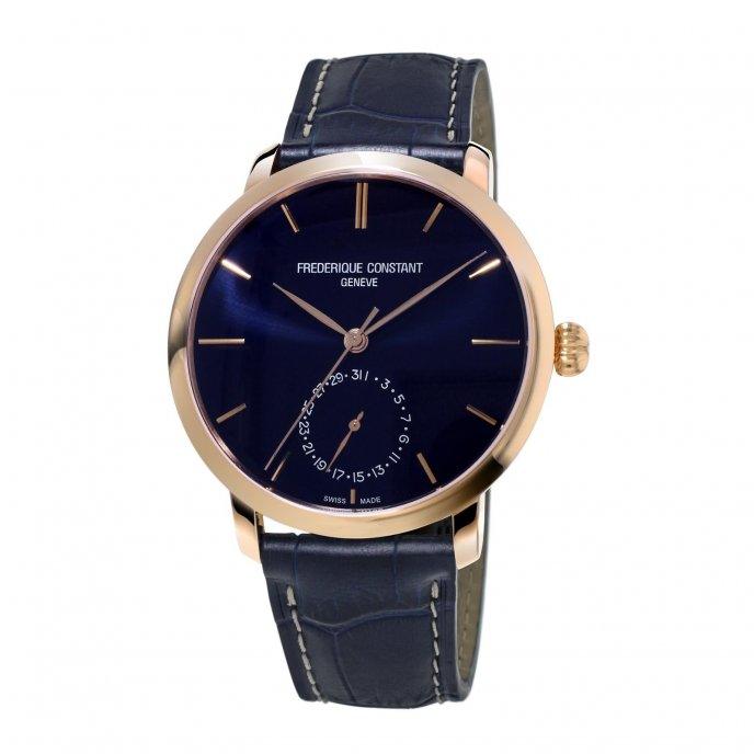 Frédérique Constant Manufacture Slimline FC-710N4S4 watch-face-view