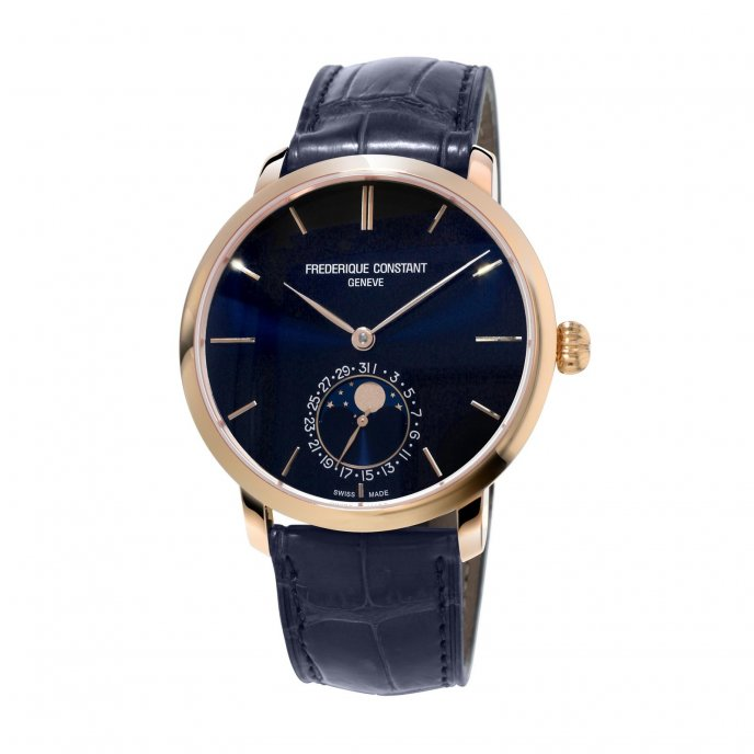Frédérique Constant Manufactire Slimeline Moonphase FC-705N4S4 watch-face-view