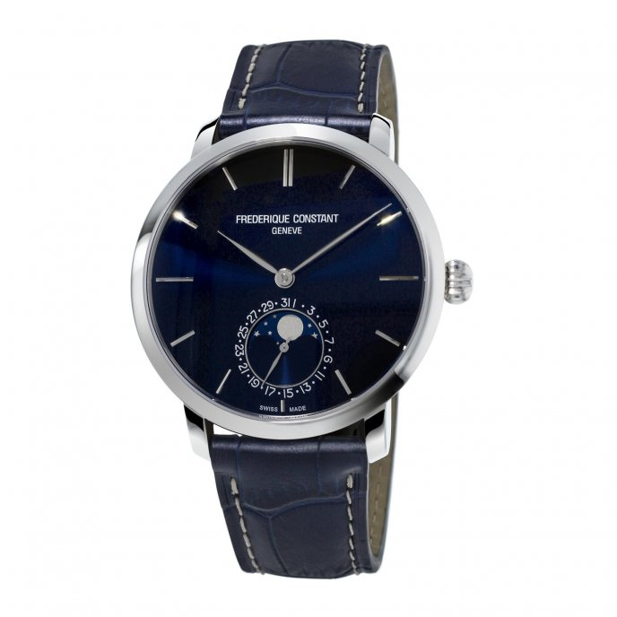 frédérique Constant Manufacture Slimline Moonphase FC-705N4S6 watch-face-view