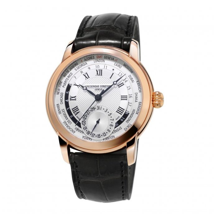 Frédérique Constant Manufacture Worldtimer FC-718MC4H4 watch-face-view