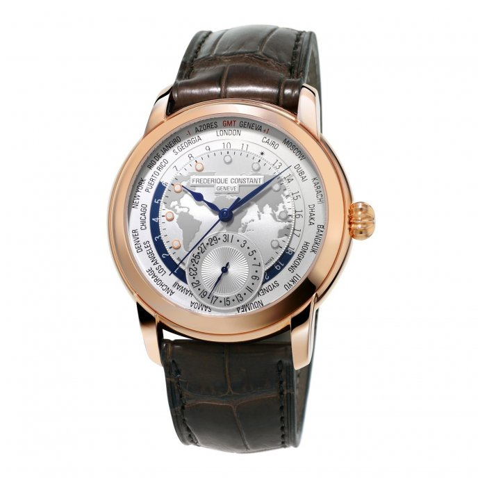 Frédérique Constant Manufacture Worldtimer FC-718WM4H4 watch-face-view