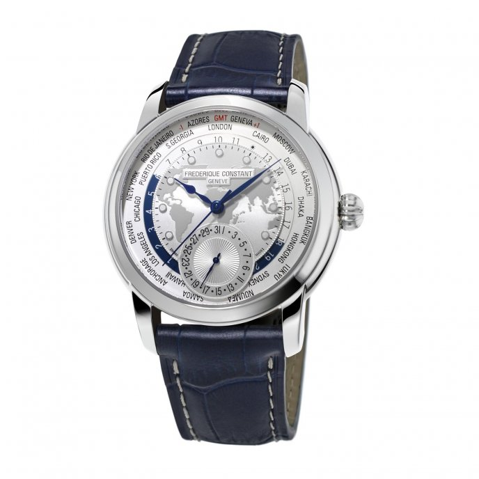 Frédérique Constant Manufacture Worldtimer FC-718WM4H6 watch-face-view