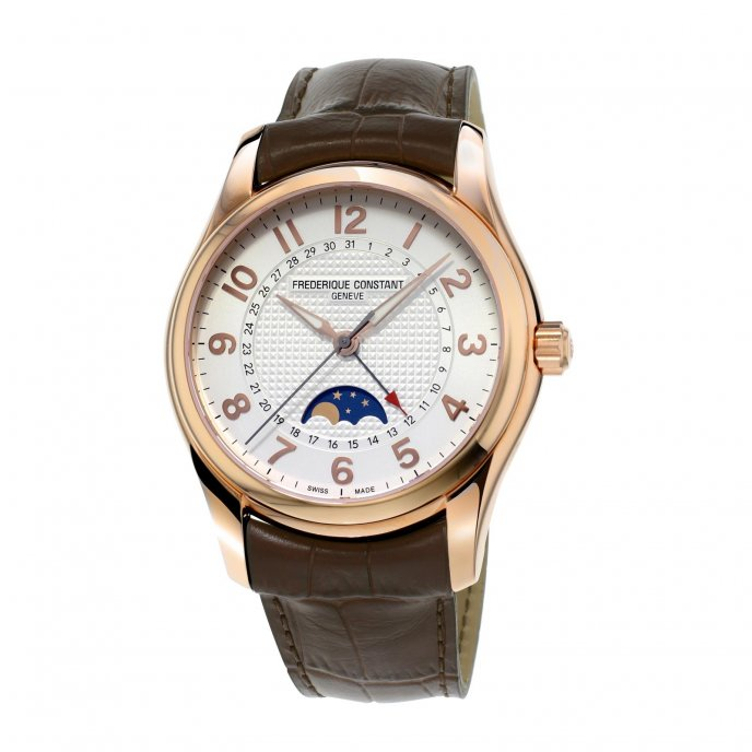 Frédérique Constant Runabout moonphase FC-330RM6B4 watch-face-view