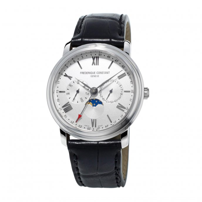 Frédérique Constant Classics Business Timer FC-270SW4P6 watch-face-view