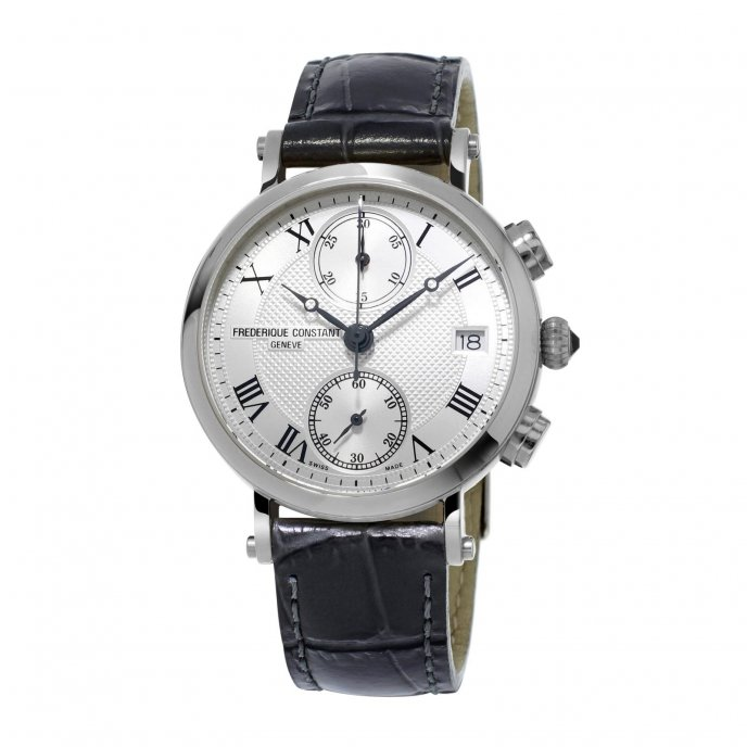 Frédérique Constant Classics Chronograph FC-291MC2R6 watch-face-view