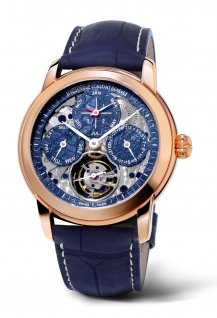 Meteorite Tourbillon Perpetual Calendar Manufacture Only Watch