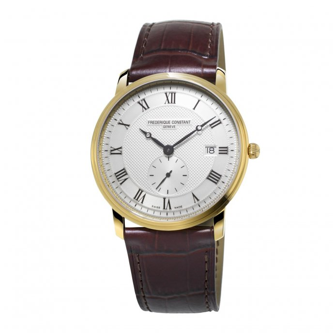Frédérique Constant Slim Line Gents FC-245M5S5 Watch-face-view