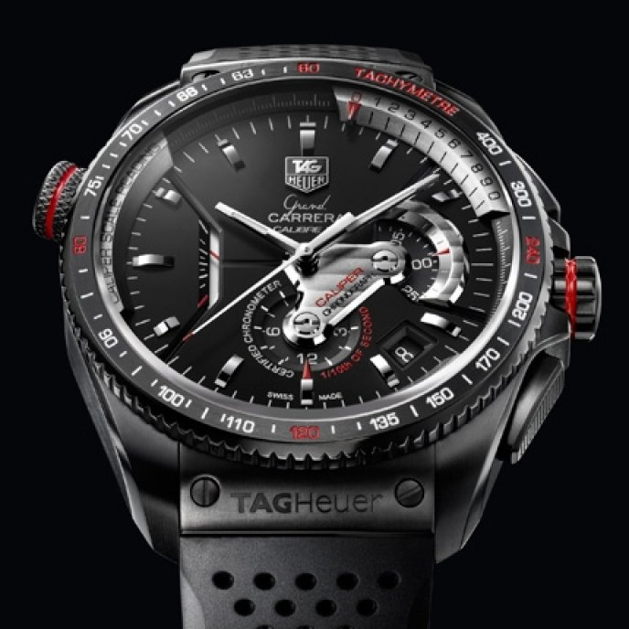 a5f9f123e1b TAG Heuer - Grand Carrera - Calibre 36 RS Caliper Chronographe Ti2 ...