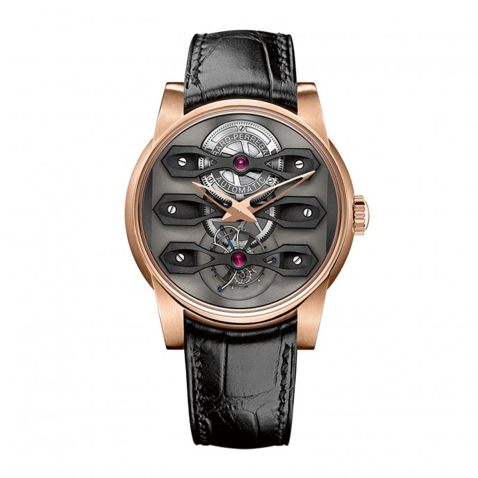 Girard-Perregaux Neo-Tourbillon With Three Bridges Watch-face-view