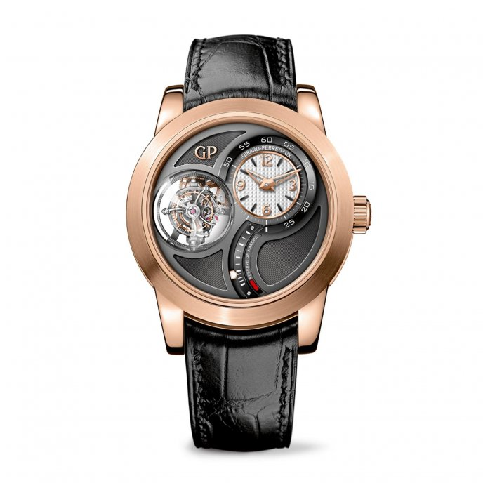 Girard Perregaux Tourbillon Tri-Axial Watch-face-view