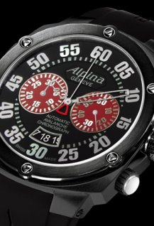 Extreme  Chrono  Double Digit  Red & Black  Shadow