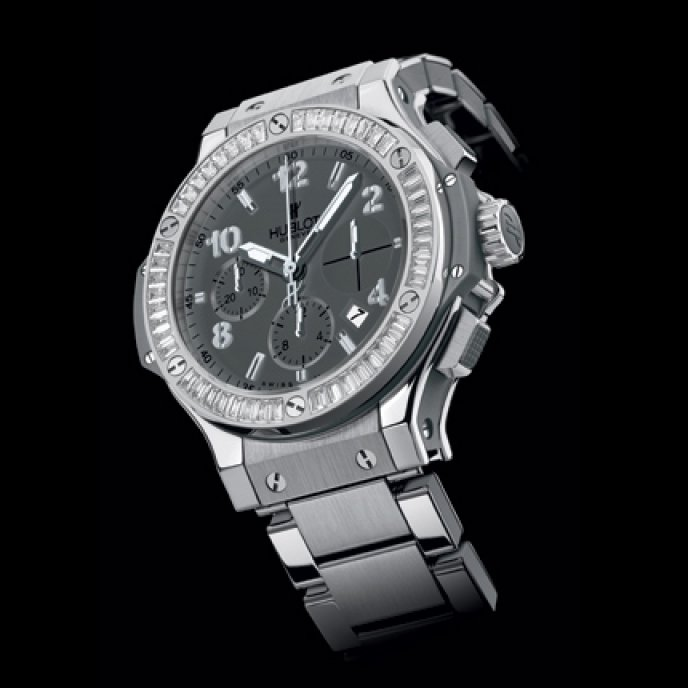 Hublot - Big  Bang Earl  Gray  Diamonds