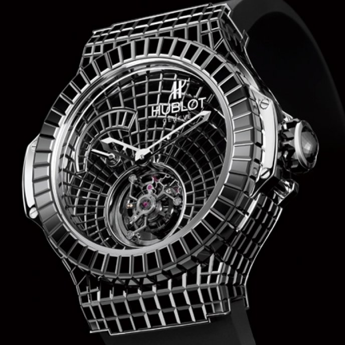 Hublot - One Million $ Black Caviar Bang