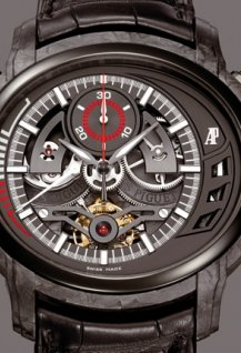 Tourbillon Chronographe Millenary Carbon One