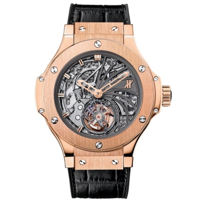 Hublot - Minute Repeater Tourbillon Gold 44mm
