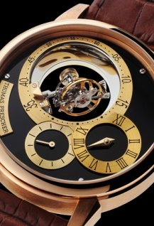 Triple Axis Tourbillon Regulator