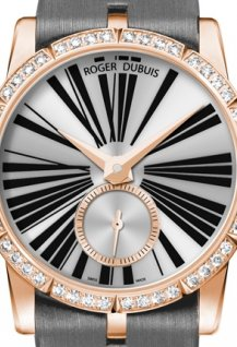 Excalibur Lady Pink Gold Set with Diamonds