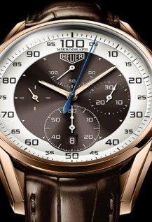 Mikrograph 1/100th of a second Chronograph