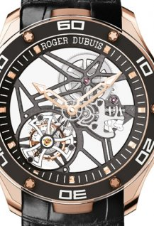 Pulsion Flying Tourbillon Skeleton pink gold