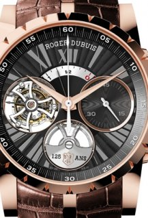 Excalibur Automatic Flying Tourbillon, Mono-Pusher Chronograph