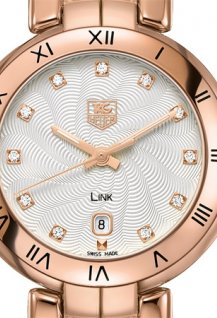 LINK LADY ROSE GOLD