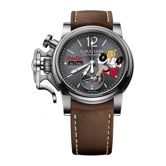 Chronofighter Vintage Nose Art Ltd - Belle