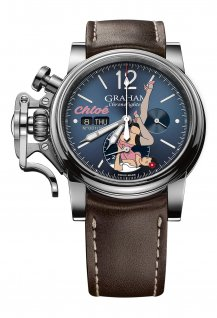 Chronofighter Vintage Nose Art Ltd - Chloé