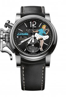 Chronofighter Vintage Nose Art Ltd - Linda
