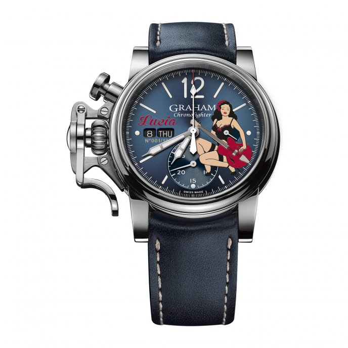 Chronofighter Vintage Nose Art Ltd - Lucia