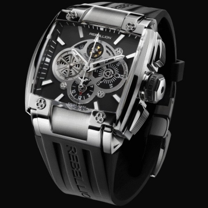 Rebellion - RE-1 Chronograph Stainless steel