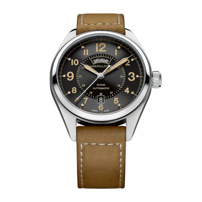 Hamilton Khaki Field Day/Date H70505833 - watch face view