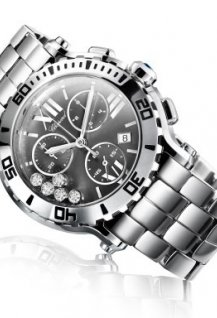 Happy Sport Chrono Steel