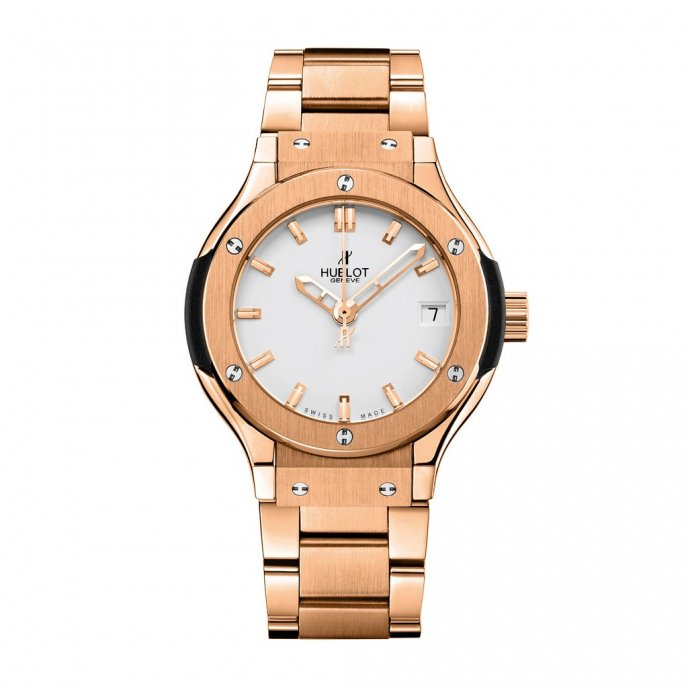 Hublot-Classic Fusion-King Gold Opalin Bracelet 33mm-581.OX.2610.OX