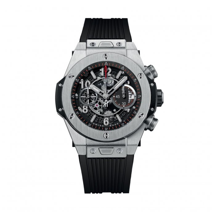 Hublot Big Bang Unico Titanium 411.NX.1170.RX - face view