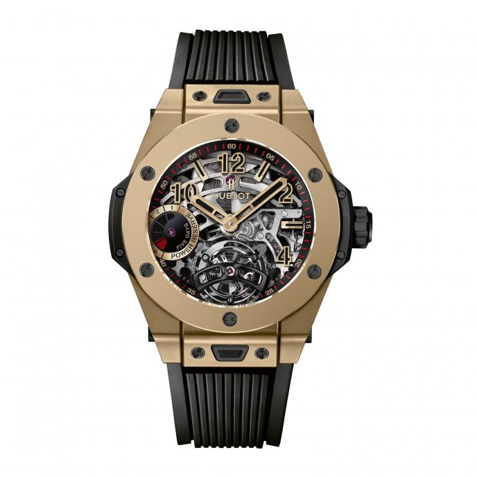 Tourbillon 5-day Power Reserve Indicator Full Magic Gold