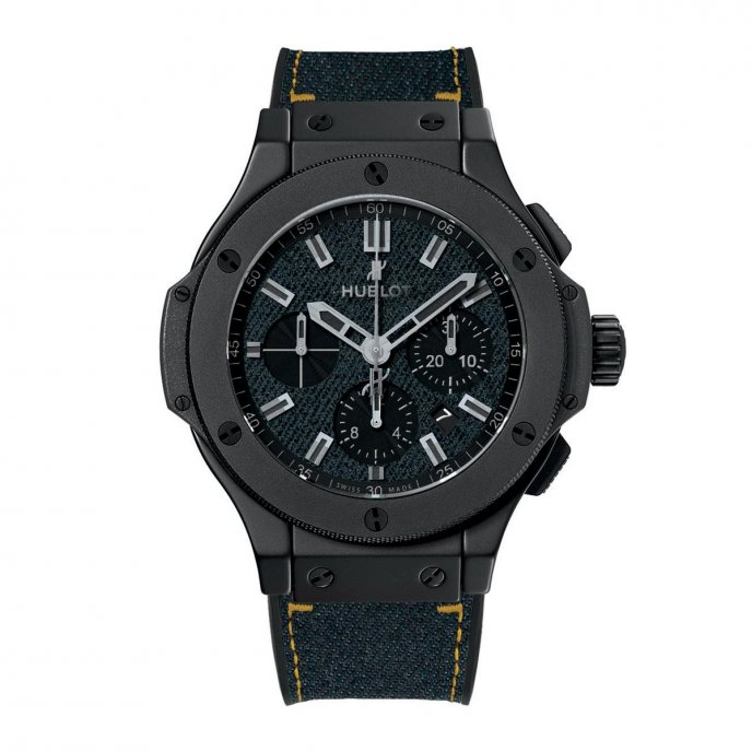 Hublot Big Bang Dark Jeans Ceramic 44mm 301.CI.2770.NR.JEANS14 - watch face view