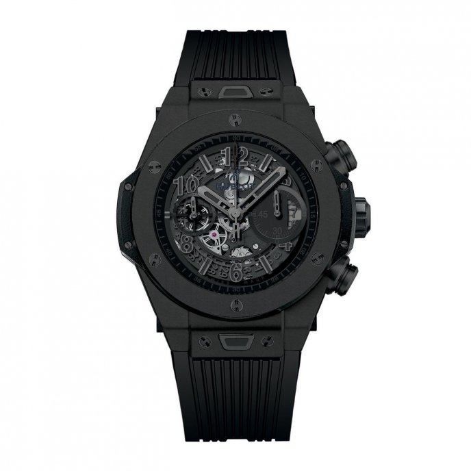 Hublot Big Bang Unico All Black 411.CI.1110.RX - face view