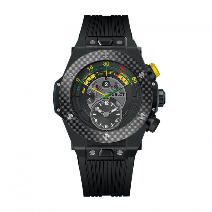 Hublot Big bang unico Chrono Bi-retrograde 412.CQ.1127.RX Watch-face-view