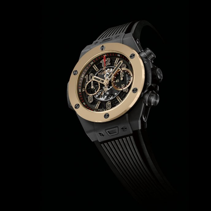 Hublot Big Bang Unico Magic Gold 411.CM.1138.RX watch face view