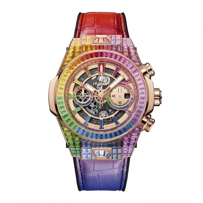Big Bang Unico High Jewelry Rainbow